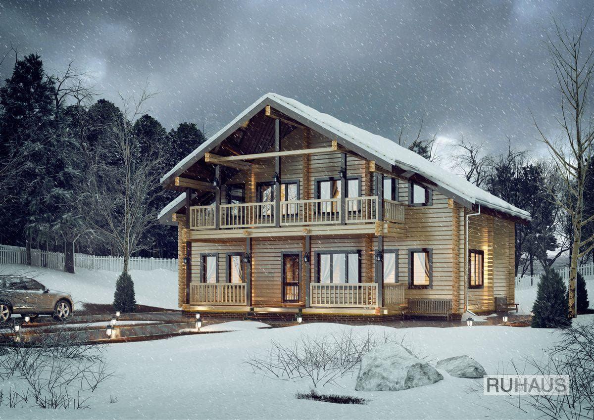 Babaevo winter