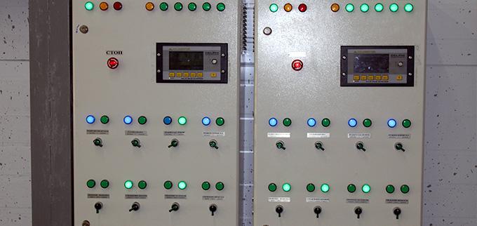 Панель управления сушильной камерой
